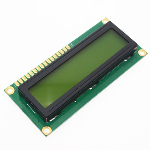 16x2 Character LCD Display Module.