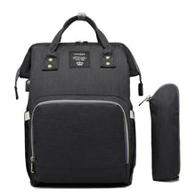 Laden Sie das Bild in den Galerie-Viewer, LEQUEEN USB Diaper Bag Baby