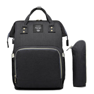 LEQUEEN USB Diaper Bag Baby