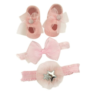 Hair Accessories Socks Gift Boxes Three-piece Suit Christmas Gifts