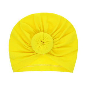 Infant Headbands Solid Cotton Kont Turban