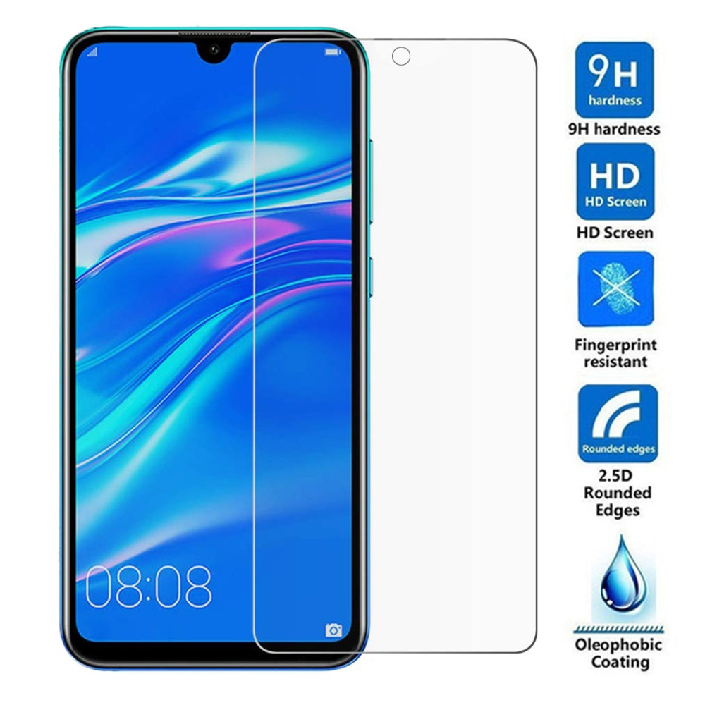 Tempered Glass for Huawei Honor 10i 8A 10 Lite 8C 8X Play P20 P30 Pro P Smart 2019