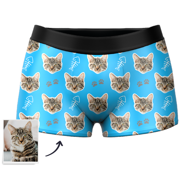 Custom Cat Boxer Shorts