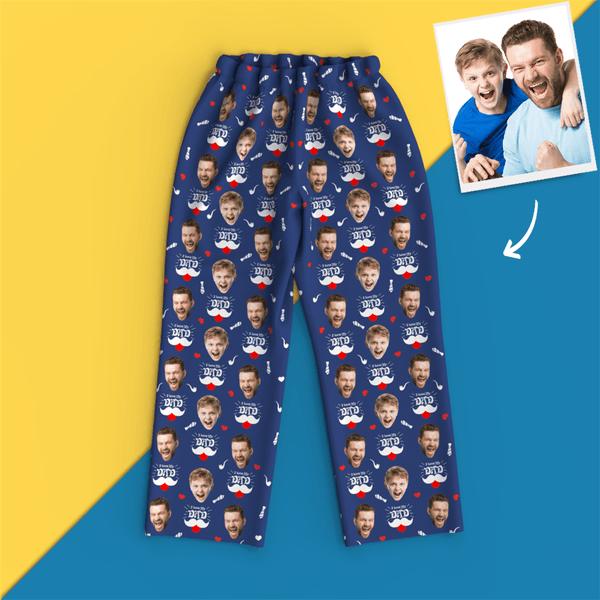 Custom Face Photo Pajamas - Love Dad