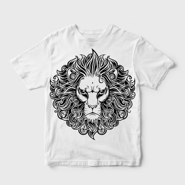 The Lion King Face T-shirt White