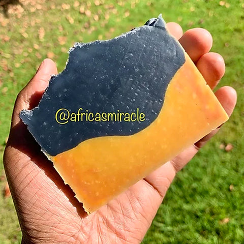 Charcoal/Turmeric Face & Body Bar
