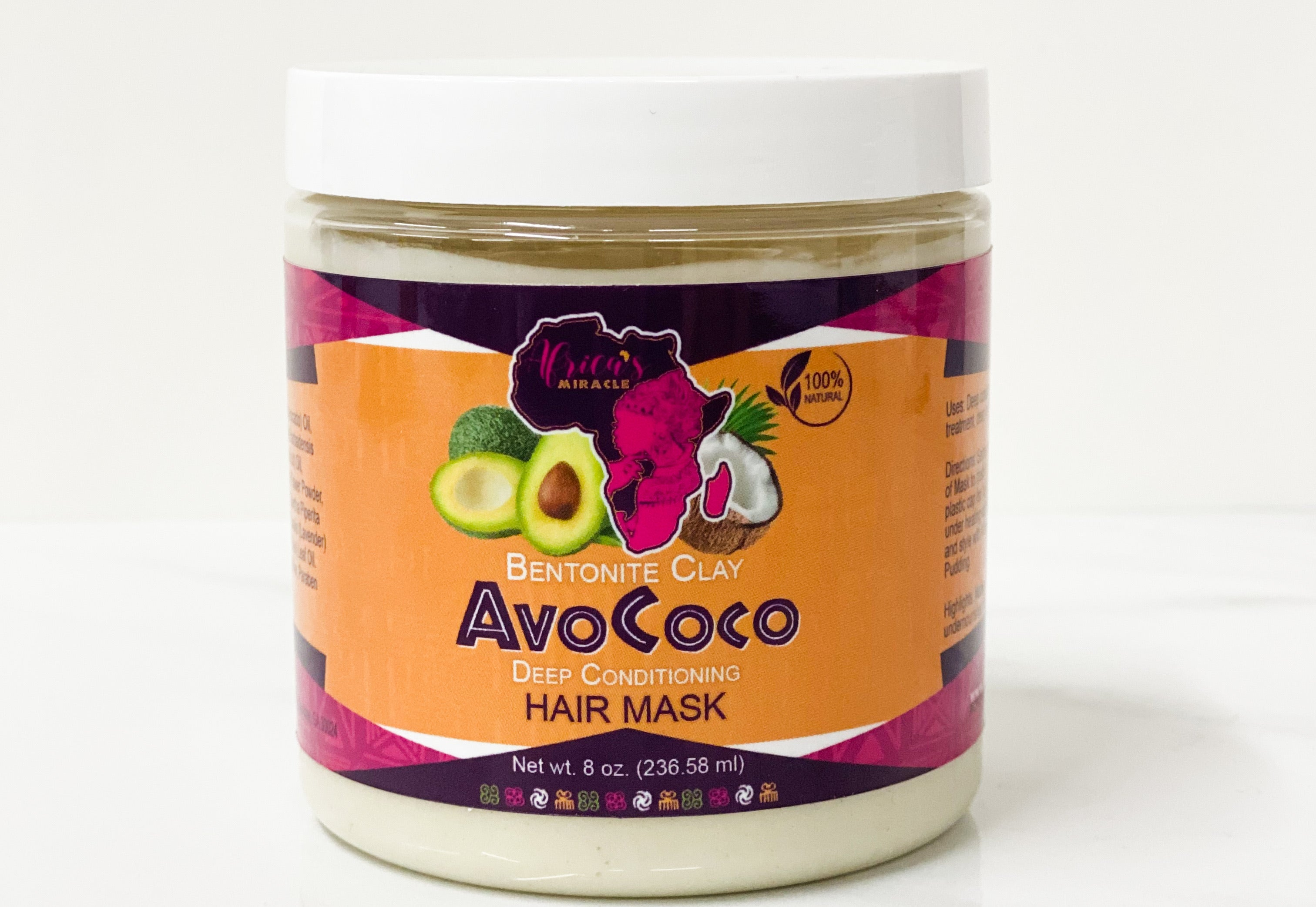 AvoCoco | Bentonite Clay Deep Conditioning Hair Mask(PREORDER)