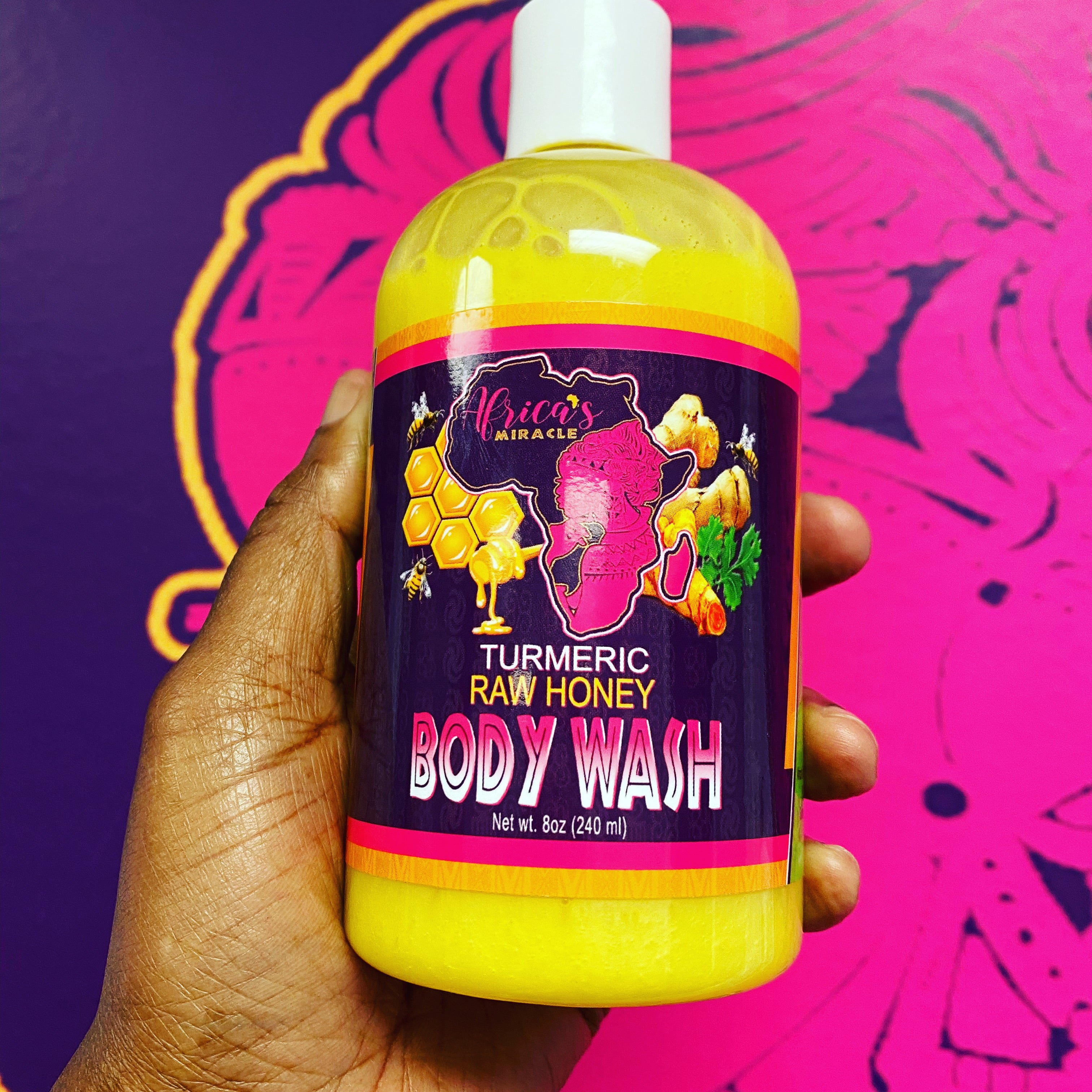 Turmeric Bliss Body Wash
