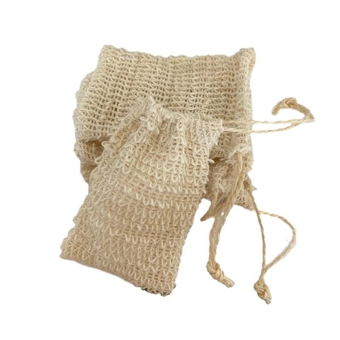 REUSABLE Bamboo Drawstring Bubbly Soap Bags