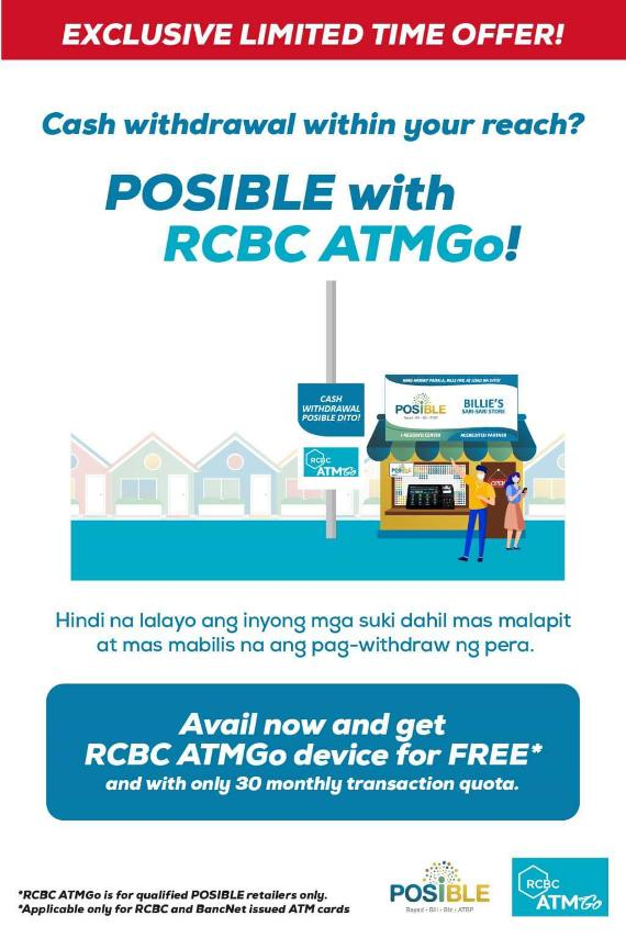 POSIBLE P39,990 with RCBC ATMGO!