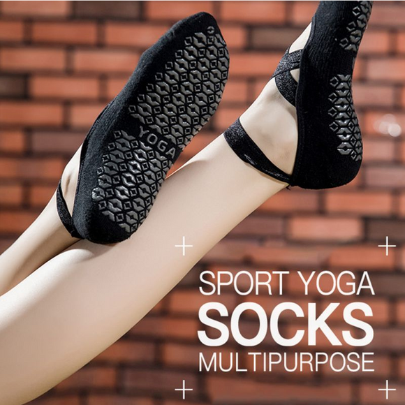 Comfortable Non-Slip Yoga Socks