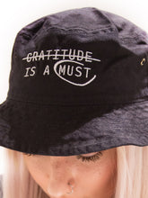 Load image into Gallery viewer, Gratitude Bucket Hat