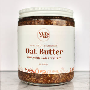 Cinnamon Maple Walnut Oat Butter (1 Jar)