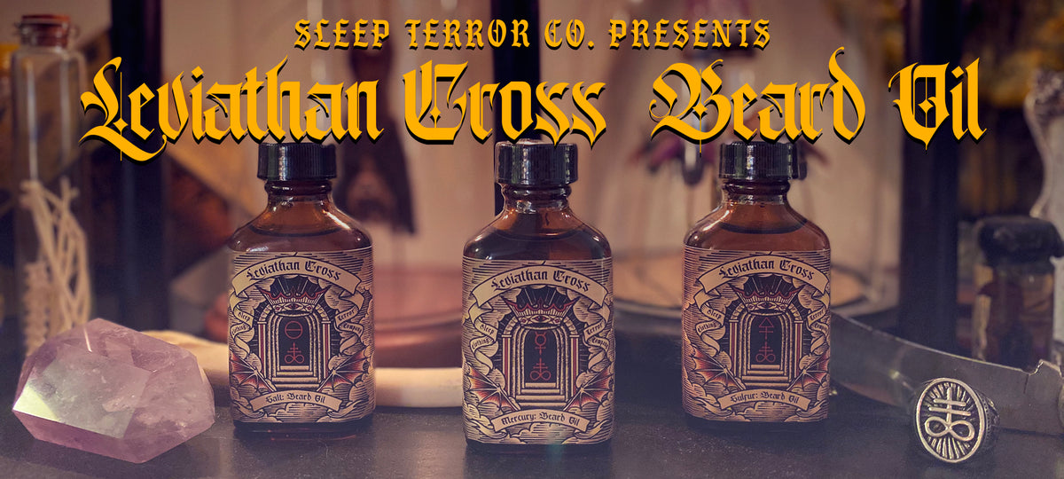 Leviathan Cross Beard Oil