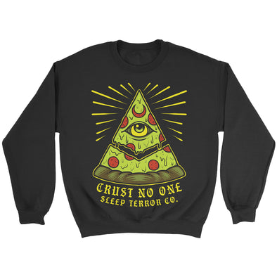 All-Seeing Pie Pizza Sweater