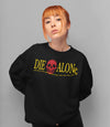 Die Alone Logo - Long Sleeve - Sleep Terror Clothing