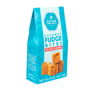 Fudge Bites in Gable Boxes