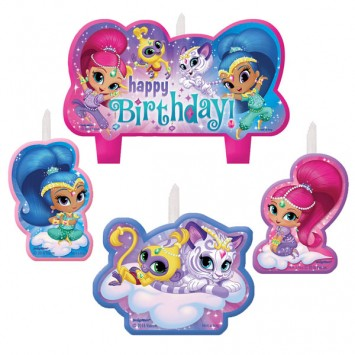 Shimmer and Shine™ Birthday Candle Set