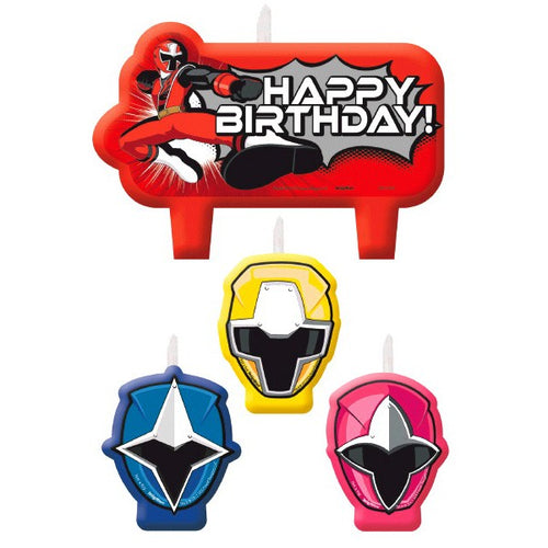 Power Rangers Ninja Candles Birthday