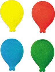 Bold Balloons Assortment Sugars, 296 Pack