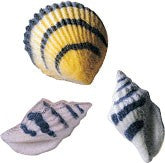 Seashells Assorted Sugars, 96 Pack