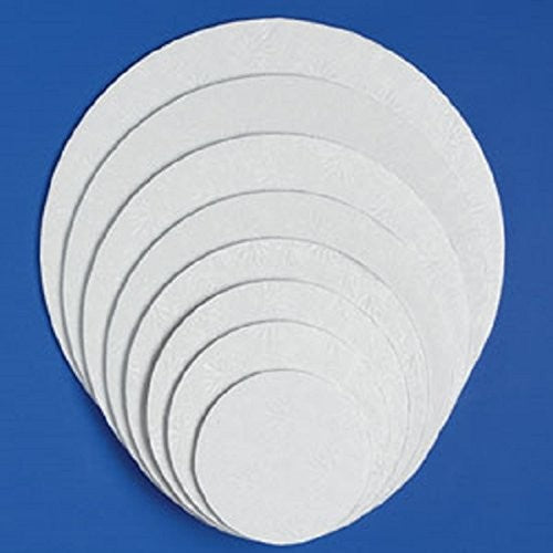 Cake Drum White Round (Various Sizes)