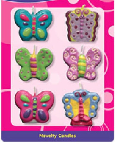 Butterfly Assortment Candles Set, 1.5