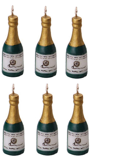 Champagne Novelty Candles 2