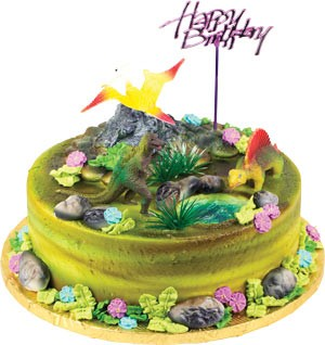 Dinosaur Topper Cake Kit