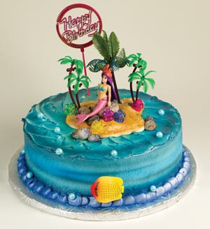 Mermaid Topper Cake Kit