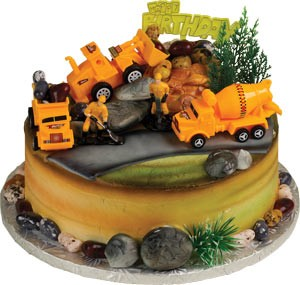Construction Zone Topper Cake Kit