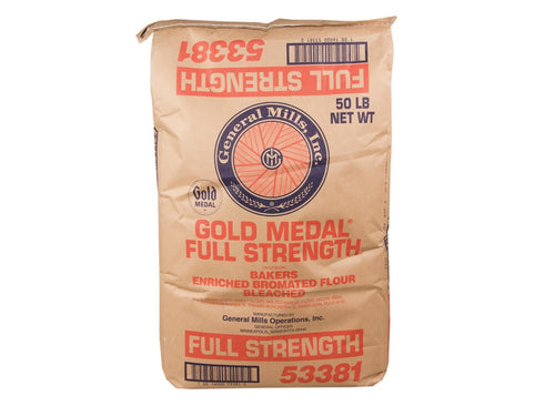 General Mills Full Strength Flour, 50 lb