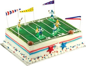 Football & Players Toppers Cake Kit