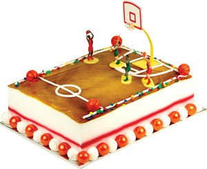 Basketball Toppers Cake Kit