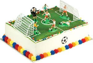 Soccer Match Toppers Cake Kit