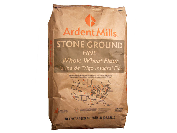 Ardent Mills Fine Stone Ground Whole Wheat Flour, 50 lb