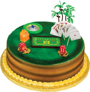 Casino (Gambling)  Toppers Cake Kit