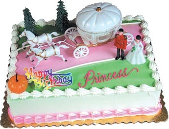 Cinderella's Coach Toppers Cake Kit