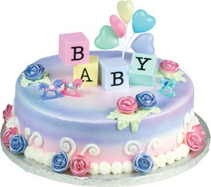 Baby Blocks Toppers Cake Kit