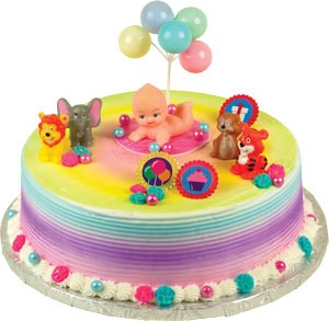 Welcome Baby Toppers Cake Kit