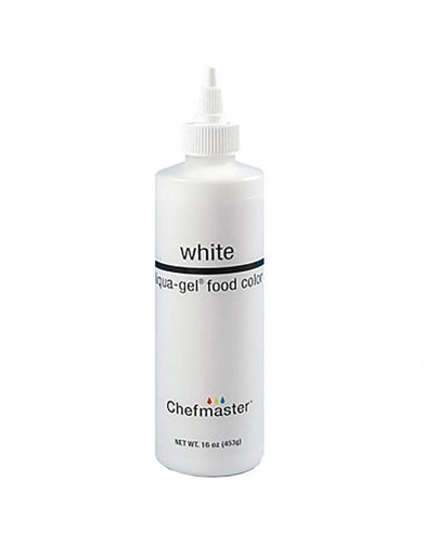 Chefmaster Liqua-Gel Liquid Whitener - 16 oz.