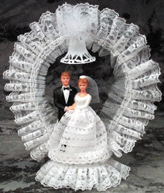 Wedding Cake Topper - E93 -  Bride & Groom