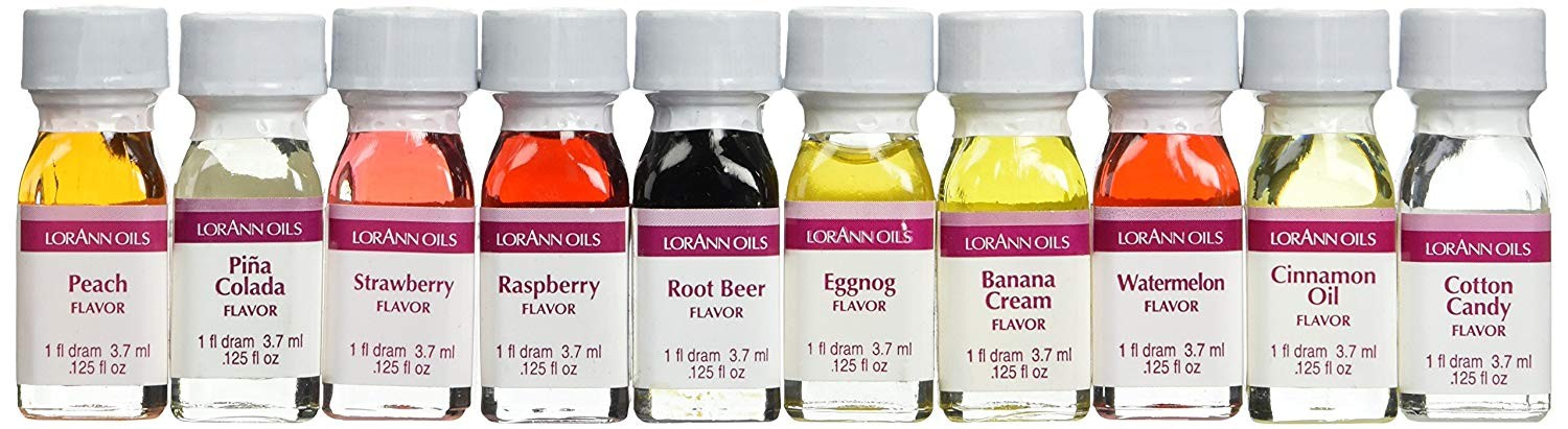 Lorann Super-Strength Oils Dram Ten Best Flavors Pack