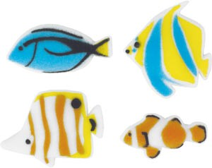 Reef Fish Assortment Sugars 96 Pack
