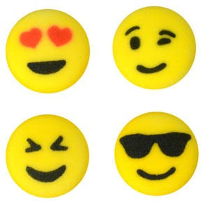 Emoji Assorted Sugars- 112 Pack
