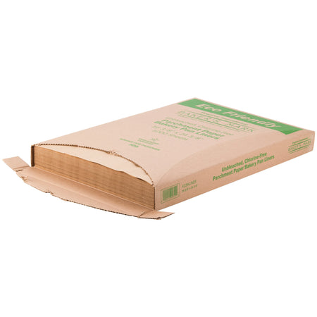 "Quilon-Coated Parchment Paper - 24"" x 16"" Full Sheet - Brown"