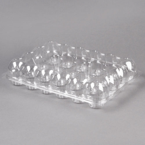 High Domed Cupcake Container - 24 Compartments