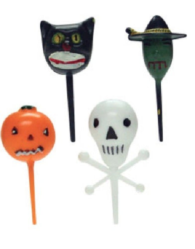 Halloween 3D Picks - Assorted - 72 Pack