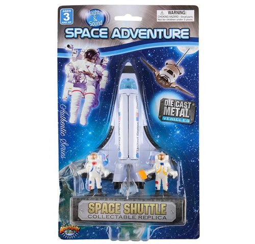 Shuttle with 2 Astronauts 3 piece set