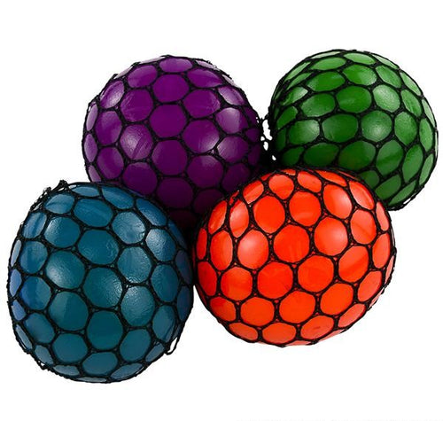 Mesh Squishy Ball 12 ct